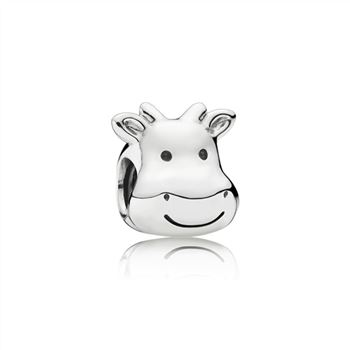 Cheerful Cow PANDORA Silver Charm 791748