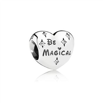 Disney Be Magical Heart Charm 791439CZ