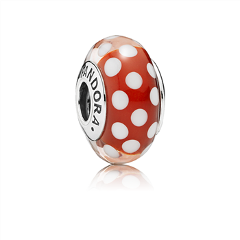 Disney, Minnie's Signature Look Charm, Murano Glass 791635