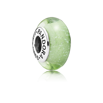 Disney, Tinker Bell's Signature Color Charm, Murano Glass 791639